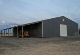Equipment Storage Steel Buildings